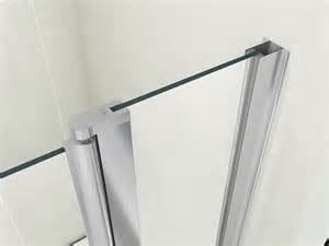 quality double over bath shower screen door 6mm glass ebay 2016 frameless tempered glass bath shower screen buy