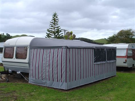 van awning nz caravan awnings john hewinson canvas whangarei