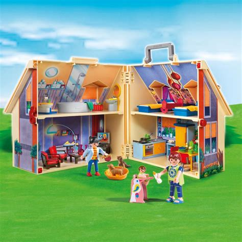take along dolls house playmobil take along modern doll house 5167 table mountain toys