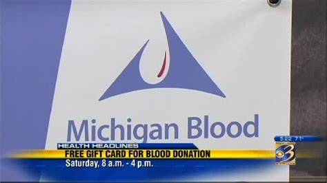 Blood Donation Gift Card - michigan blood offers meijer gift card for blood donation attempt wwmt