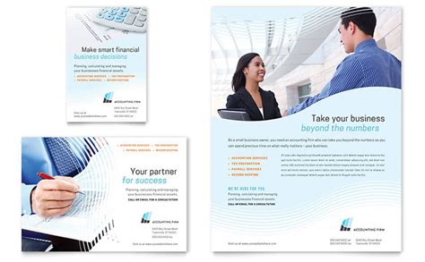 Accounting Firm Flyer Ad Template Design Ads Audit Template