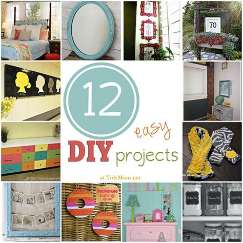 easy diy home projects 12 easy diy projects
