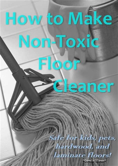 Non Toxic Floor Cleaner by Pin By Condo Blues Lazy Budget Chef On Tutorials