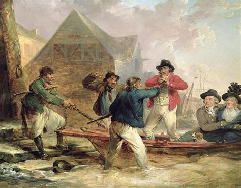 the way back the paintings of george a weymouth a brandywine valley visionary books the pressgang 1790 painting by george morland