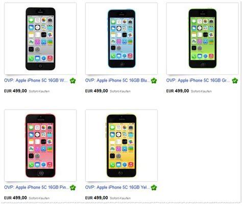 Iphone 5s Vertrag Billig 1151 by Iphone 5c 16gb Ohne Vertrag B Ware Preis 199 95