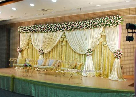 Stage Decorations by Wedding Stage Decoration Ideas Get Organised Wedding