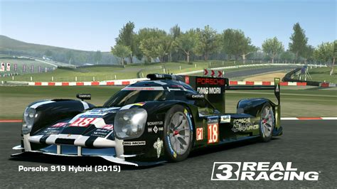 porsche 919 hybrid real racing 3 cars fully upgraded real racing 3 wiki fandom autos post