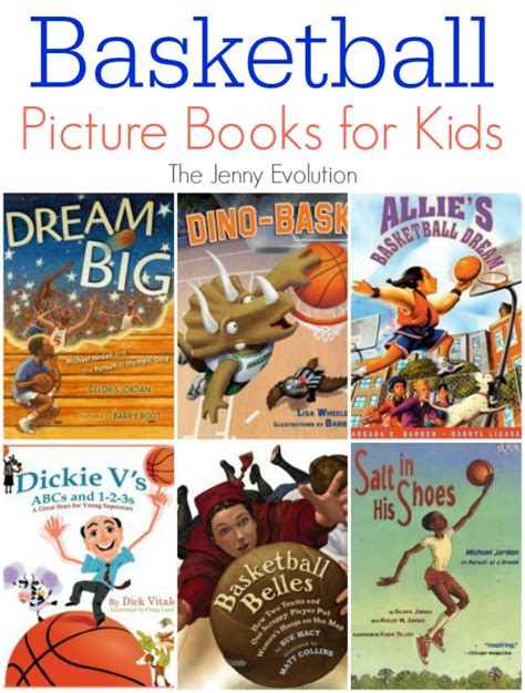 Picture Books About Basketball For