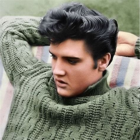 what kind of black hair dye did elvis use elvis presley hair perfection the man has style