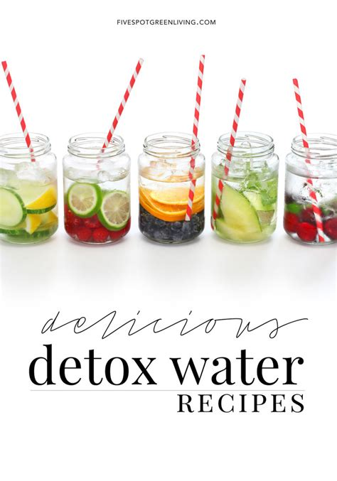 How Much Water To Drink During Detox by Infused Detox Water Recipes