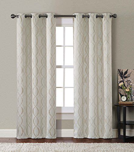 94 inch blackout curtains 2 beige bryant thermal insulated woven blackout window