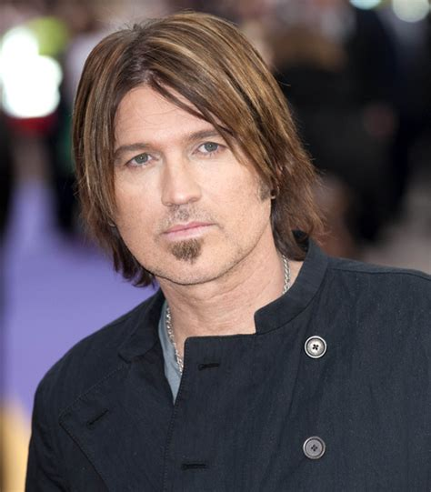Billy Cyrus Hairstyle by Montana The Carpet Premiere Photos