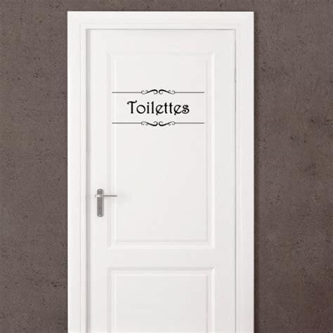 Wc Design 3397 by Sticker Porte Quot Salle De Bain Quot Et Quot Toilettes Quot Stickers