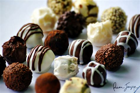 Handmade Chocolate Truffles - chocolate truffles i ve been selling