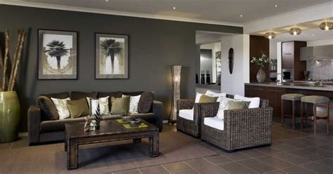 living room ideas grey feature wall home vibrant dark brown tiles dark feature wall living area lounge room