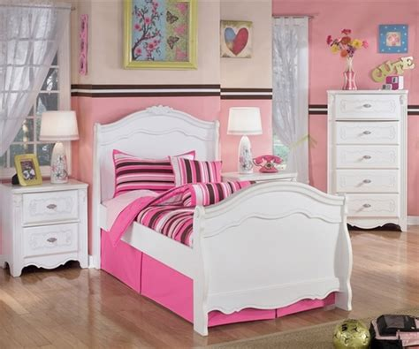 ashley furniture exquisite twin sleigh bed kids exquisite twin sleigh bed  white finish