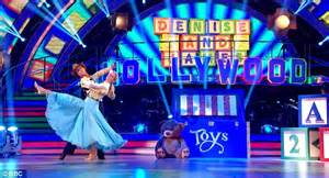 strictly dancing denise van outen triumphs toy story performance daily mail