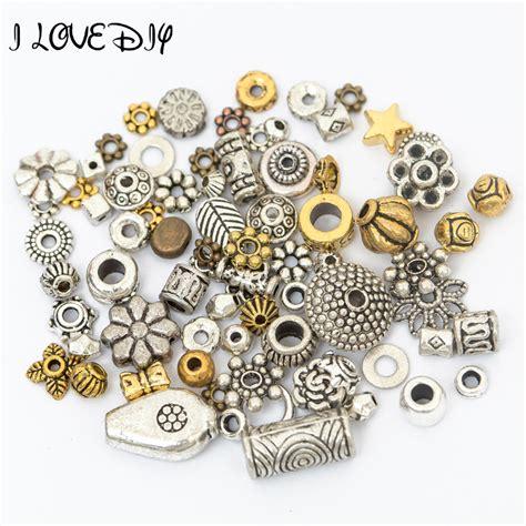 make metal jewelry wholesale 50g about 75 90pcs mixed gold tibetan silver
