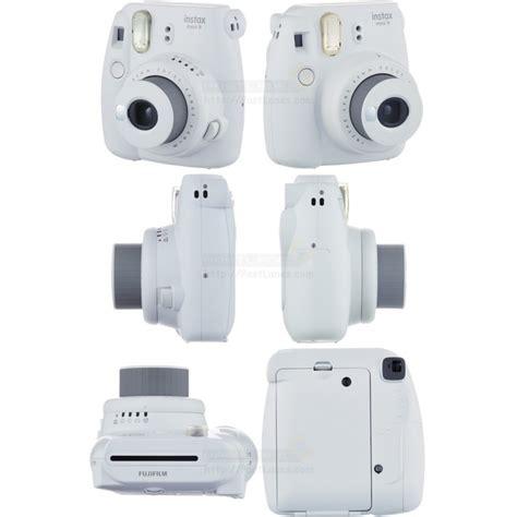 Fujifilm Instax Mini 9 Smoky White fujifilm instax mini 9 polaroid smokey white
