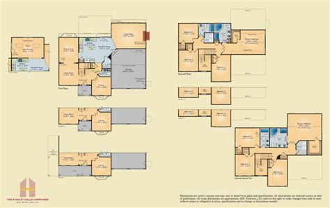 chesapeake floor plan chesapeake stanley halle communities eastern shore homes
