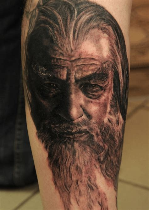 gandalf tattoo gandalf lord of the rings by andy engel tattoos