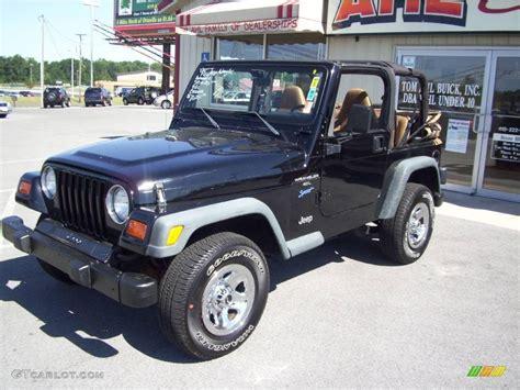 1998 black jeep wrangler sport 4x4 12999621 photo 3 gtcarlot car color galleries