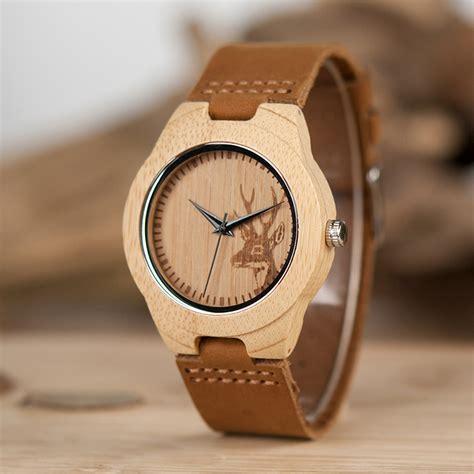 Jam Tangan Kayu Wanita Bobo Bird B0 bobo bird jam tangan bambu analog wanita wn20 brown