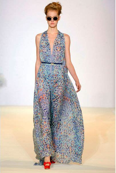Dress Mix Tile temperley leopard tile dress in floral mint