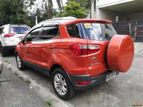 ford vehicles 2015 ford ecosport 2015 car for sale metro manila