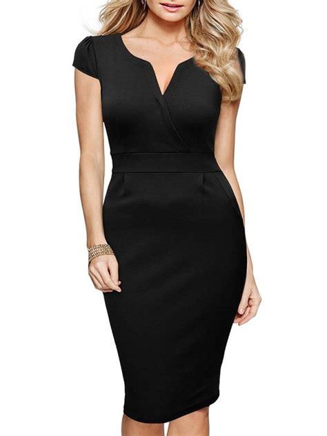 Slim Fit Bodycon Dress v neck slim fit bodycon dress discover