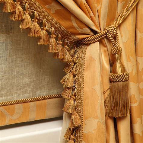 Curtains With Tassels Draperies And Curtains Manufacturers And Wholesalers