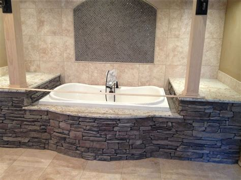 stone bathtub surround stone interiors tub surround south alabama brick company