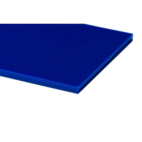plexiglas 24 in x 48 in x 0 118 in blue acrylic sheet