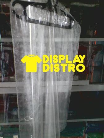 jual plastik pelindung gantungan baju gamis anti debu hanger 150cm display distro