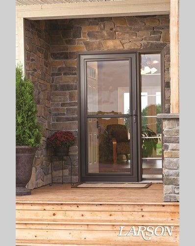 Larson Exterior Doors 1000 Images About Curb Appeal On Spotlight Fall Porches And Front Porches