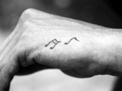 small music tattoos for men 60 small tattoos for masculine ink design ideas
