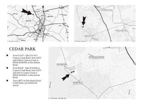printable local area maps abua map to cedar park hs