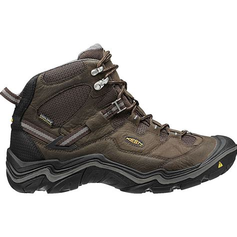 best mens mid hiking boots keen durand mid waterproof hiking boot s