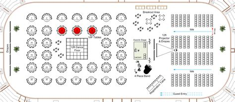 event layout diagram visio floor plan shapes