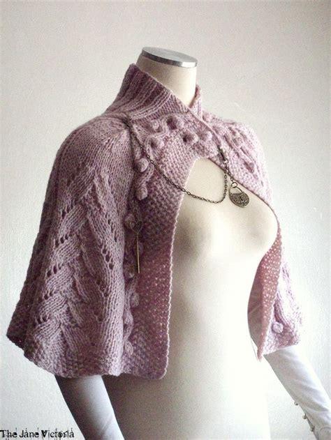 free knitting pattern library capelet 17 beste afbeeldingen over gilets et ponchos tricot op