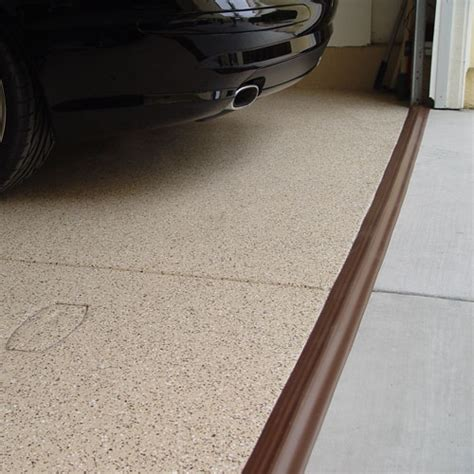Tsunami Garage Door Seal Brown In Garage Floor Protection Tsunami Garage Door Threshold Seal