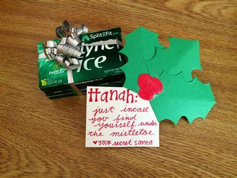 secret clue ideas small secret santa gift idea secretsanta