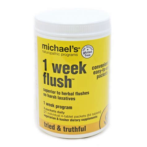 1 Week Detox Cleanse by 1 Week Flush By Michael S 21 Packets