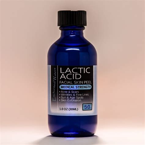 lactic acid skin peel 50 for acne wrinkles melasma
