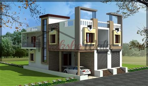 my first house design front view by anime freak95 on residential cum commercial elevation 3d front view design
