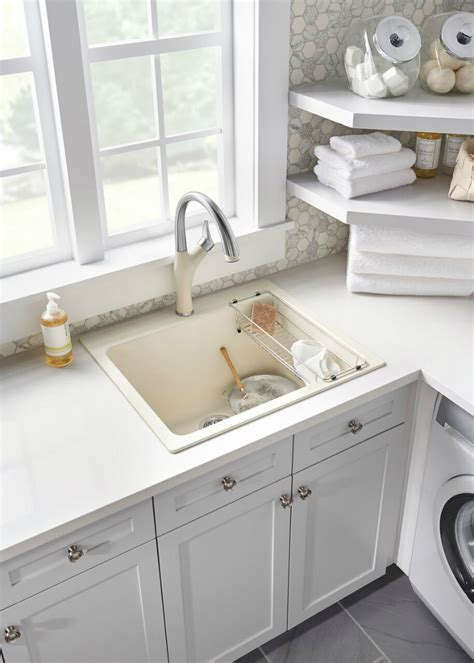 blanco practika utility sink top 5 tips for designing a beautiful and efficient laundry