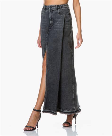 Rok Denim Maxi Skirt Naura Skirt shop the look meets high fashion pagina 3 perfectly basics