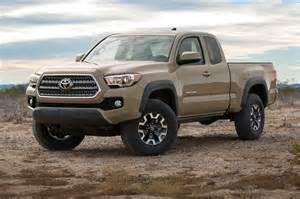 2016 Toyota Tacoma Road 2016 Toyota Tacoma Adds New V 6 Engine Six Speed