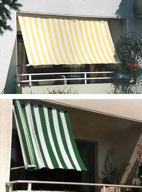 balkon markise senkrecht seilspannsonnensegel nach ma 223