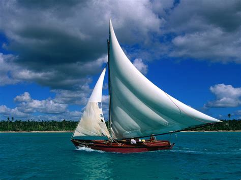 sailboat wallpaper fishing sailboat dominican republic wallpapers hd wallpapers
